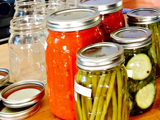Home canning is a guaranteed way of eating healthier