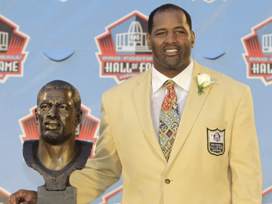 Former TSU star Richard Dent was enshrined in the Pro Football Hall of Fame in 2011.