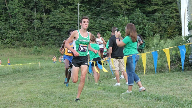 James Buchanan graduate Daniel Green has become the No. 1 runner for Marshall University.