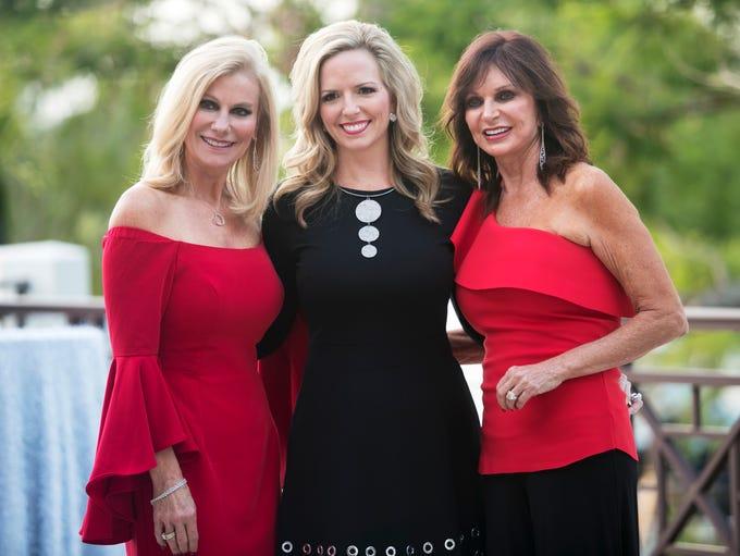 Sandra Stilwell, left, Brooke Denson and Maria Wiles,