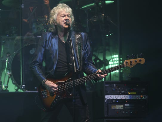 John Lodge of the Moody Blues, coming Saturday to The