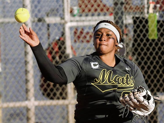 Parkland High School's standout softball player Kreola Moore has signed to play college ball with Texas Southern.