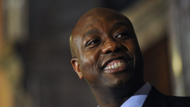 Sen. Tim Scott, R-S.C., is working to persuade other Republicans to join him in Selma, Ala., to mark the 50th anniversary of the historic Selma-to-Montgomery voting rights march.