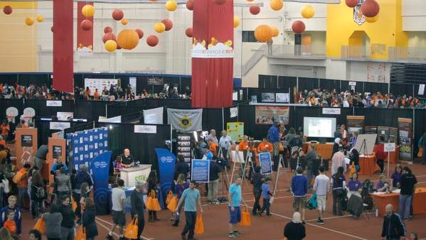 A file photo of 'Imagine RIT' from 2014.