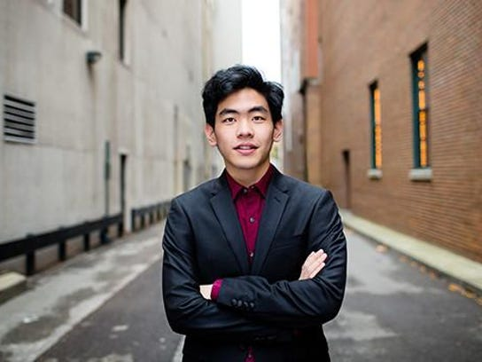 Gilmore Young Artist Award winner Daniel Hsu will perform Saturday at Murphy Auditorium.