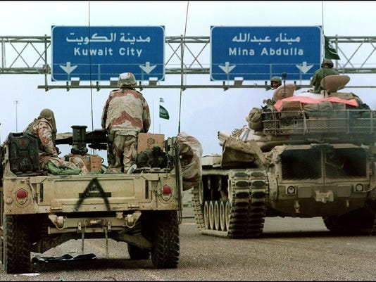 RETRO-GULF WAR-US ARMY-KUWAIT
