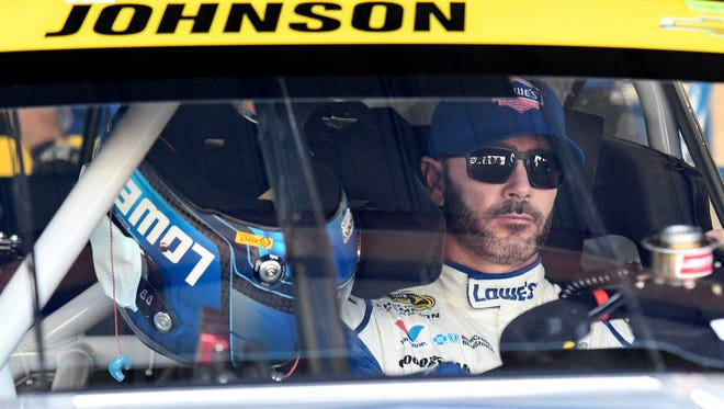 Jimmie Johnson has won five of the last eight races at Texas Motor Speedway.