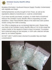 Worried about the condition of your illegal methamphetamine?