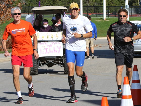 101 miles in 24-hour run for Lilly