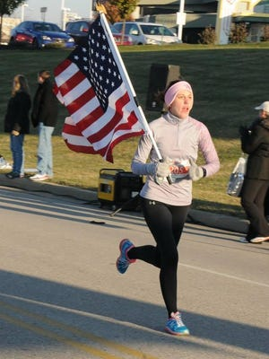 Danielle Dierig, of Florence, came in second among women in the 2014 Honor Run Half Marathon.