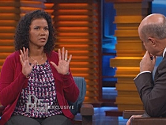 """Lisa"" tells her story to Dr. Phil."