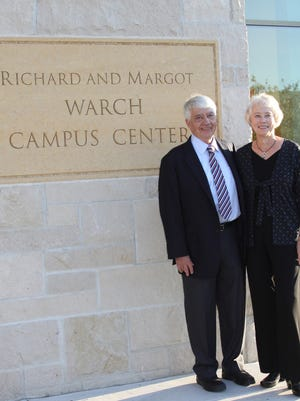 The Warch Campus Center at Lawrence University was named after Richard and Margot Warch.