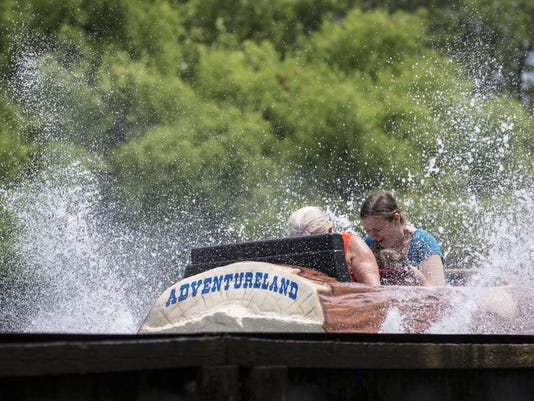 log ride adventureland