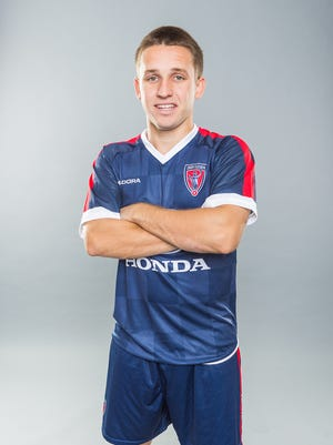 Former IU standout Tanner Thompson scored in his professional debut for the Eleven last week.