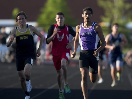 Hari Sathyamurthy (right), of Brownsburg