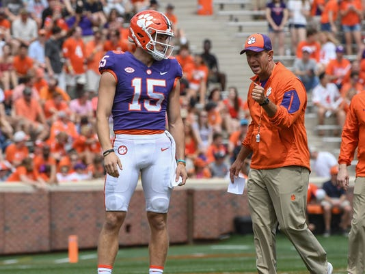 Hunter Johnsons Transfer From Clemson Football Was Best For Him