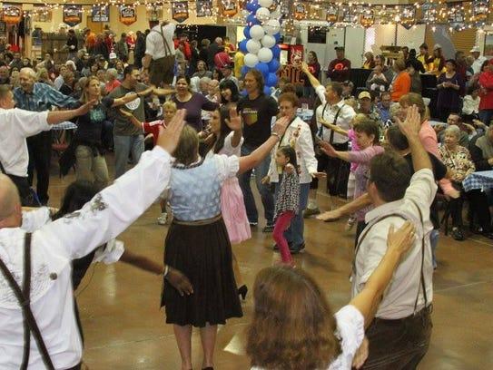 Tickets to the Ruidoso Oktoberfest are $10 per day