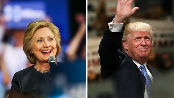 Polls show Clinton expanding her lead over Trump