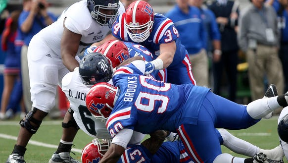 Louisiana Tech plays Rice for the C-USA West Division