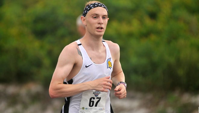 Fallon's Tanner Boone finished third in the marathon in the NAIA championships.