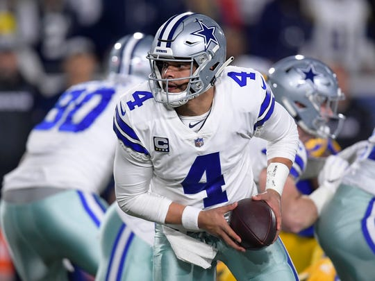 Dallas Cowboys quarterback Dak Prescott has made a donation to the family of Bossier High's Kaalas Roots through his Faith, Family, Finish Foundation.