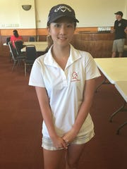 St. John's Knights Anna Yi took girl's top place in