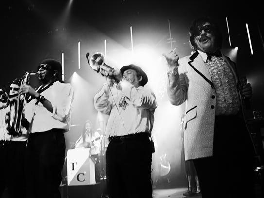 Tony Clifton and his band.