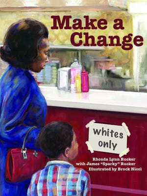 "Rhonda Rucker, who writes children's and young adult books, revisits Knoxville civil rights history in her newest picture book, ""Make a Change."""