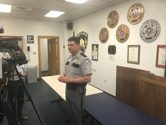 Sheriff Richard Wiles said the county would have to