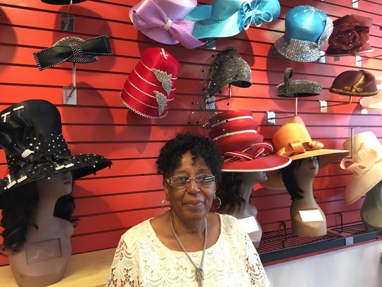 Remona Benjamin owns Four Sisters Fashion Millinery