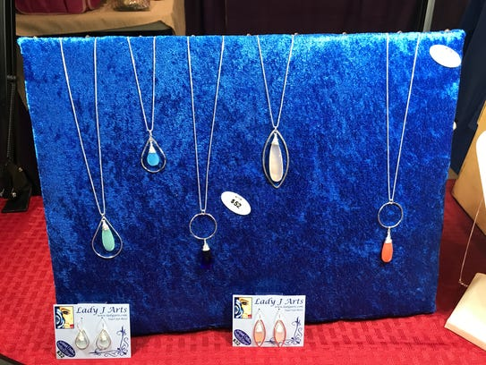Hand-crafted jewelry from Lady J Arts at The Hemp and