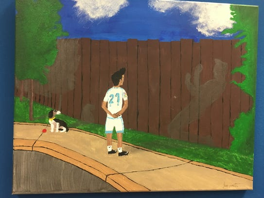 First place winner for the painting was Juan Montés