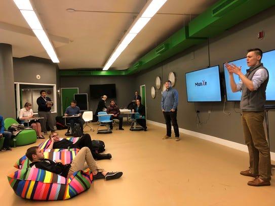 Students at Gallaudet's Innovation and Entrepreneurship
