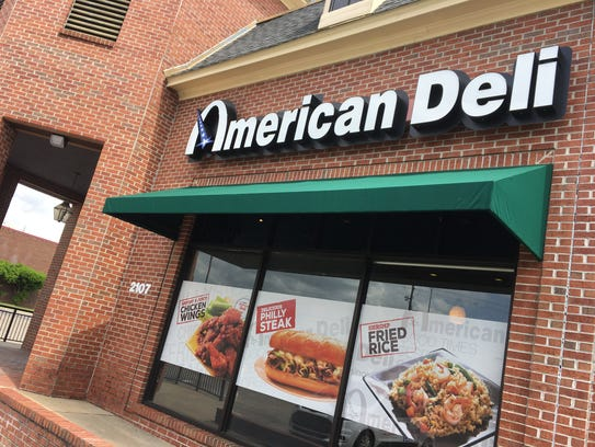 American Deli serves a wide array of sandwiches and