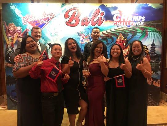 KFC Guam won an award at the KFC Asia Pacific Competition