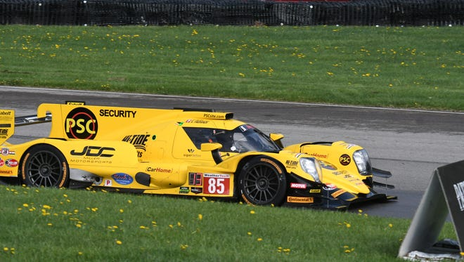 IMSA returned to the Mid-Ohio Sports Car Course on Friday for the Acura Sports Car Challenge at Mid-Ohio.