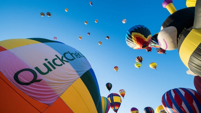 The 36th annual QuickCheck New Jersey Festival of Ballooning returns to Solberg Airport in Readinton July 27-29.