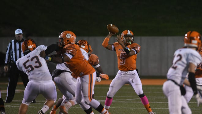 Mansfield Senior quarterback Cameron Todd is up for Week 9 Football Player of the Week.
