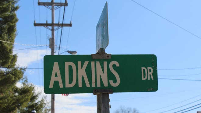 Adkins Drive was named after the late Dr. O.H. Atkins. The doctor's family is looking to have the spelling error fixed.