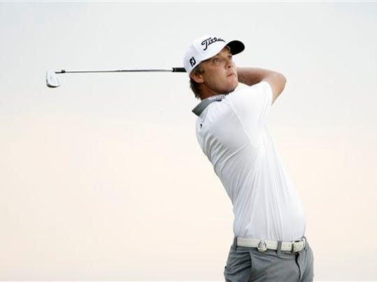 Matt Jones of Australia is the leader after two rounds of the PGA Championship.