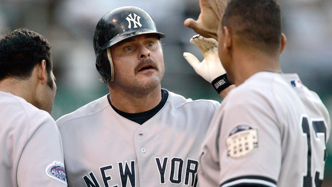 Jason Giambi and Alex Rodriguez were Yankees teammates for five seasons; now, A-Rod might be wise to follow Giambi's path of contrition.