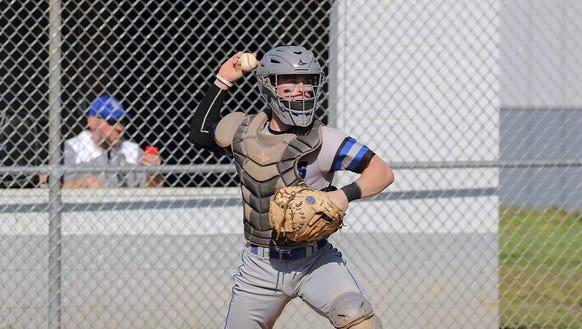 Smoky Mountain senior catcher Tristen Kenyon