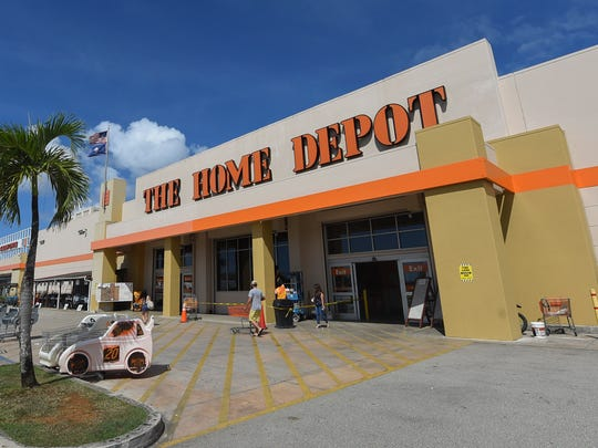 Home Depot in Tamuning on Nov. 20, 2017.