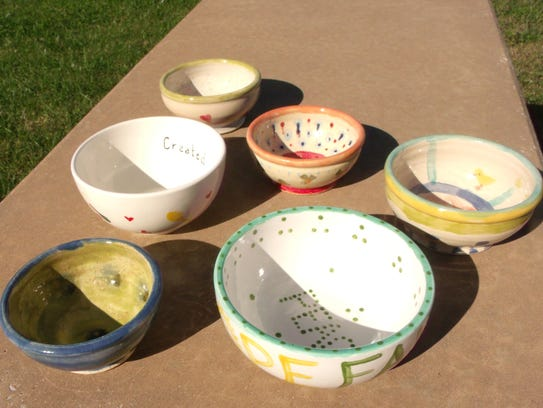 The Empty Bowls initiative seeks to blend creativity