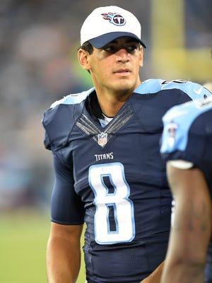 Titans quarterback Marcus Mariota might spend the entirety of Thursday's preseason finale on the sideline.