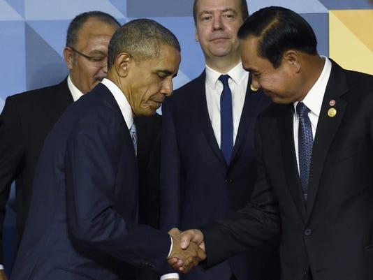 Barack Obama, Prayuth Chan-ocha