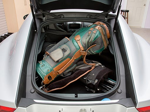Can A Jaguar F Type Coupe Really Fit 2 Golf Bags