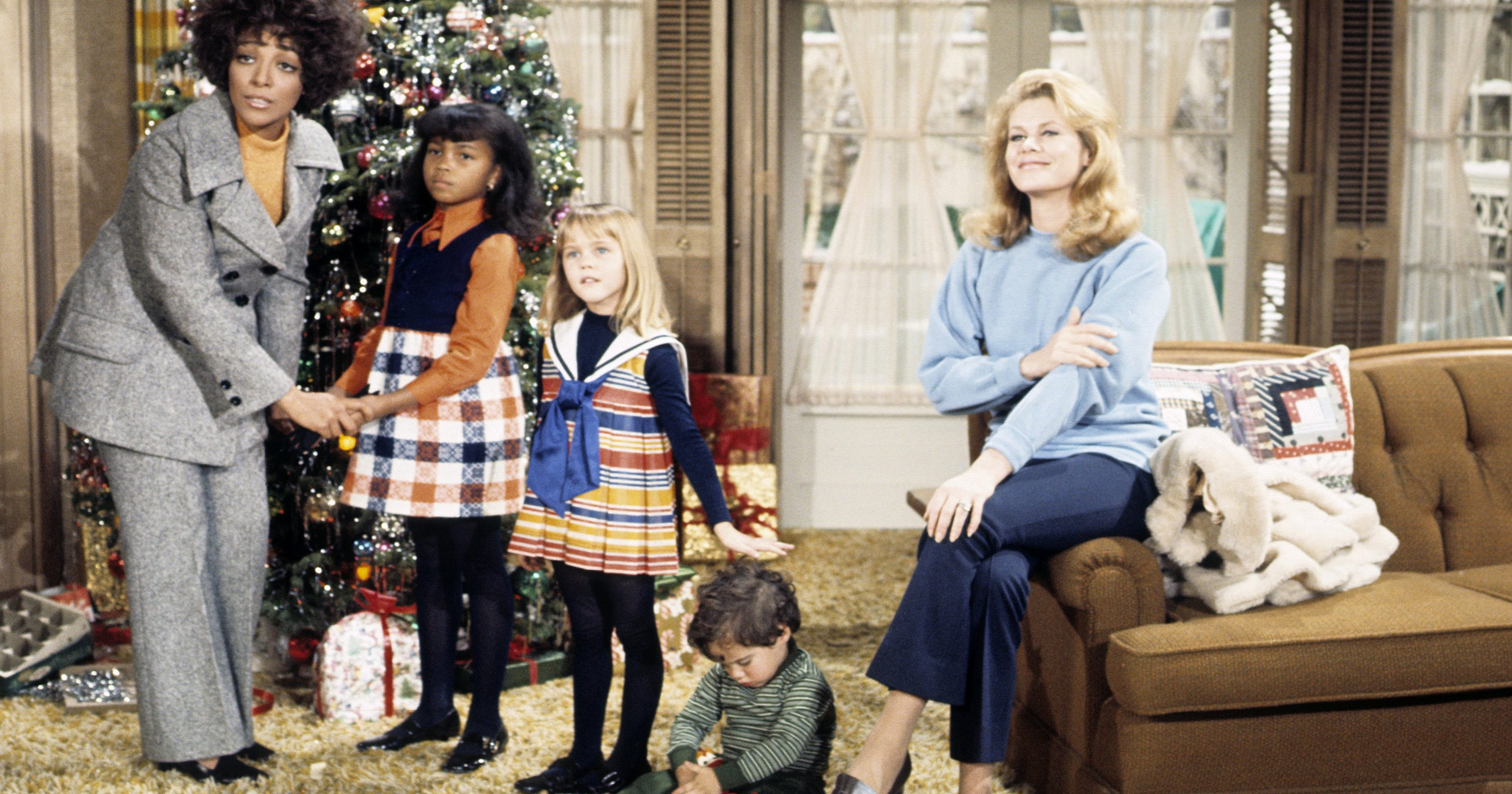 Christmas Sister Swap.Bewitched Broke Ground 45 Years Ago