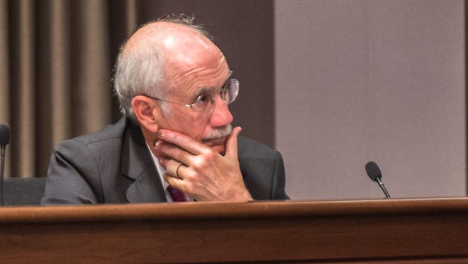 Former Buncombe County assistant manager Jon Creighton. He retired in December, and has since pleaded guilty to a charge connected to a kickback scheme with a longtime contractor.