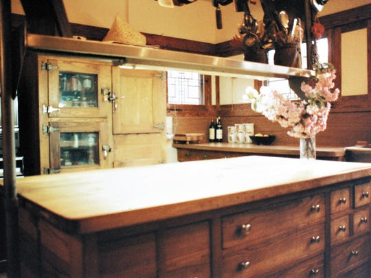 For Bixler, the house (including its wooden refrigerator and architect-designed furniture) was a constant source of amusement and pride.